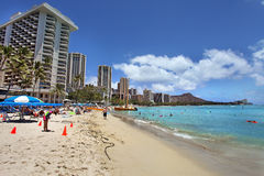 Waikiki Honolulu Hawaii Royalty Free Stock Photography