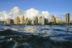 Waikiki, Oahu, Havaí fotografia de stock