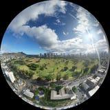 Waikiki photo sphere Royalty Free Stock Photos