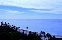 Waikiki plaże fotografia royalty free