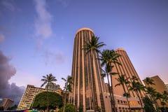 Waikiki Prinz Hotel stockfotos