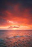 Waikiki resort sunset Stock Image