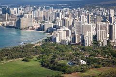 Waikiki Shell Hawaje Fotografia Royalty Free