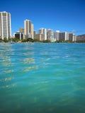 Waikiki skyline Royalty Free Stock Photo