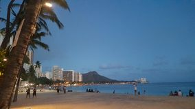 Waikiki-Stadtbild Stockbilder