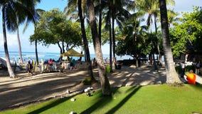Waikiki Strand in Hawaii lizenzfreie stockfotografie