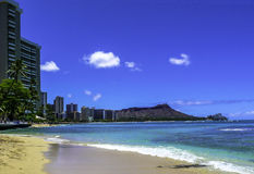 Waikiki-Strand, Hawaii Stockbilder