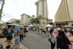 Waikiki street festival Royalty Free Stock Photography