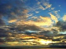 Waikiki sun set Royalty Free Stock Image