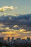 Waikiki Sunset stock photography