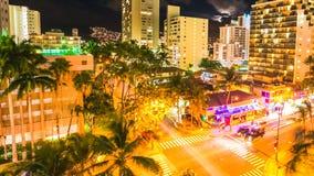 Waikiki traffic Aerial View Royalty Free Stock Photography