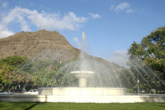 Waikiki-Wasser-Brunnen stockbilder