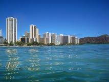 Waikiki waterfront Stock Photography