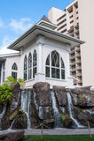 Waikiki wedding chapel Royalty Free Stock Photo