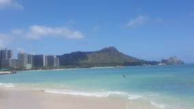 Waikikicityscape stock foto's