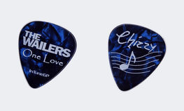 The Wailers - Audley Chizzy Chrisholm Guitar Pick Stock Photography