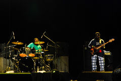 The Wailers in Concert royalty free stock photos