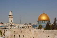 The wailing wall Royalty Free Stock Image