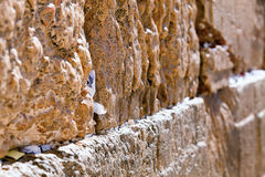 Wailing Wall Royalty Free Stock Photography
