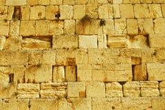 Wailing Wall. The Wailing Wall in Jerusalem Stock Photos