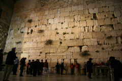 The Wailing Wall Royalty Free Stock Photography