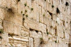 Wailing Wall stock photo