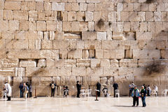 Wailing Wall - Israel Royalty Free Stock Photo