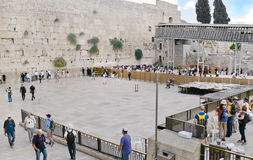 Wailing wall, Israel, Jerusalem Royalty Free Stock Photos