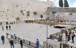 Wailing wall, Israel, Jerusalem Royalty Free Stock Photos