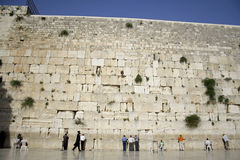 The wailing wall jerusalem Royalty Free Stock Photos