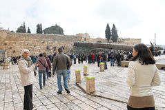 Wailing Wall Jerusalem Royalty Free Stock Photos
