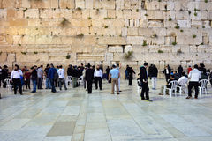 Wailing wall in Jerusalem Royalty Free Stock Photos