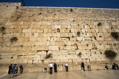 The Wailing Wall - Jerusalem Stock Photo