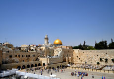 The Wailing Wall of Jerusalem Royalty Free Stock Images