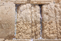 The Wailing Wall, Jerusalem, Israel Stock Image