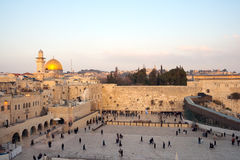 Wailing wall Stock Photography