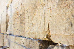 Wailing Wall . Royalty Free Stock Photography