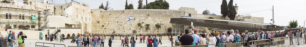 Wailing Wall . Stock Photography