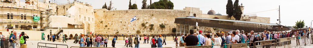 Wailing Wall . Royalty Free Stock Photography