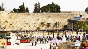 Wailing Wall . stock video