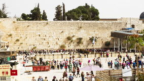 Wailing Wall . stock video footage