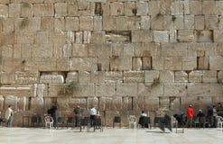 The Wailing wall, Jerusalem - Israel Royalty Free Stock Images