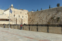 The Wailing wall, Jerusalem - Israel Royalty Free Stock Image