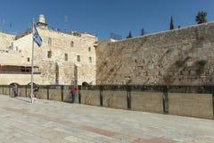 The Wailing wall, Jerusalem - Israel Royalty Free Stock Image