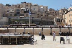 The Wailing wall, Jerusalem - Israel Royalty Free Stock Photo