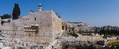 The Wailing wall, Jerusalem - Israel Royalty Free Stock Photos