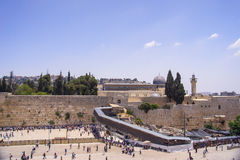 Wailing Wall in Jerusalem Royalty Free Stock Image