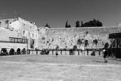 Wailing Wall in Jerusalem Royalty Free Stock Photos