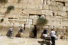 Wailing Wall in Jerusalem Royalty Free Stock Photography
