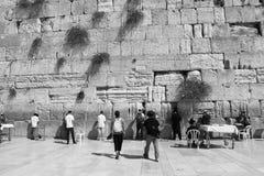 Wailing Wall in Jerusalem Royalty Free Stock Photo